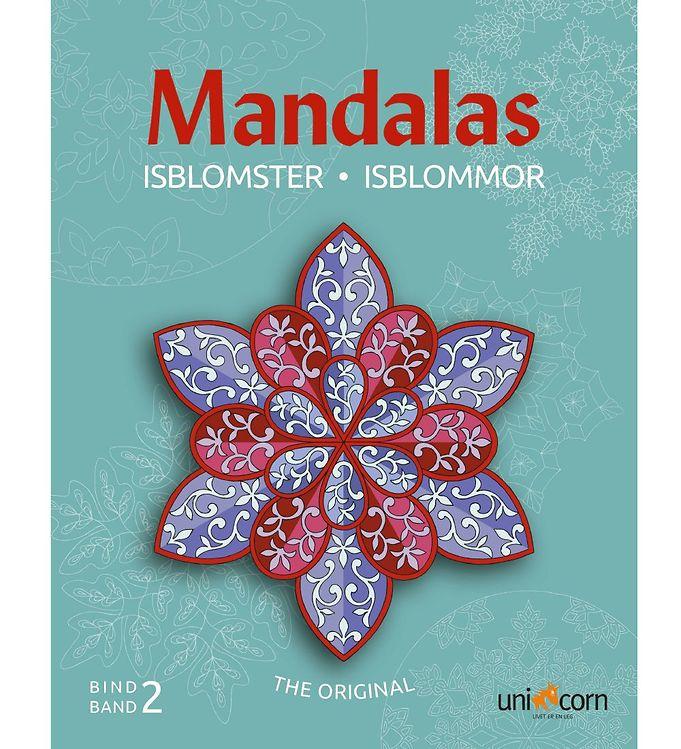 Mandalas Malebog - Isblomster - Bind 2