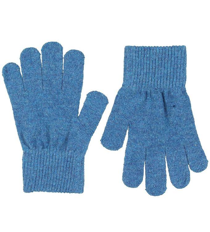 CeLaVi Handsker – Uld/Nylon – Støvet Blå