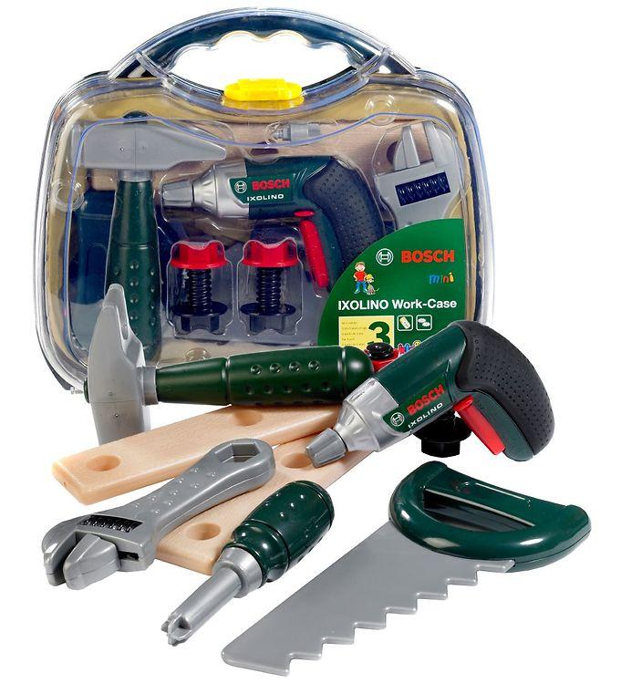 Bosch Mini Værktøjskasse - Legetøj - Ixolino