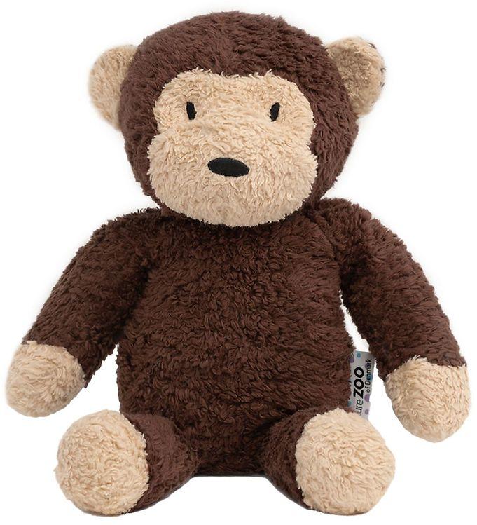 Image of NatureZoo Bamse - 18 cm - Teddyfleece - Abe - Brun (MI483)