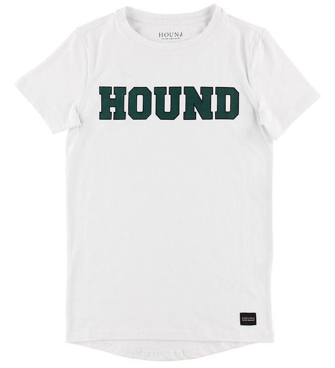 Hound T-shirt - Hvid m. Logo
