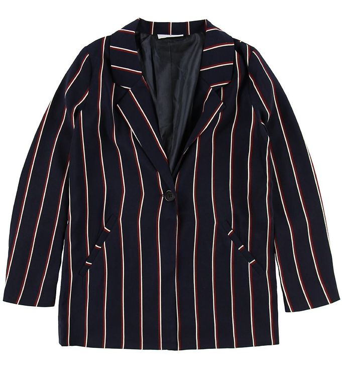 Image of Grunt Blazer - Lilly - Navy m. Striber (MJ321)