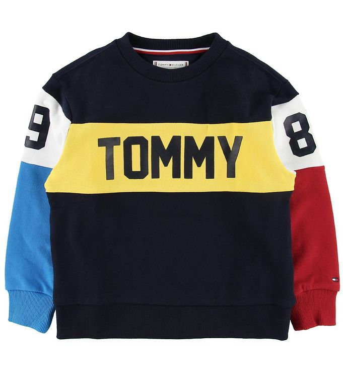 Image of Tommy Hilfiger Sweatshirt - Navy (MJ328)