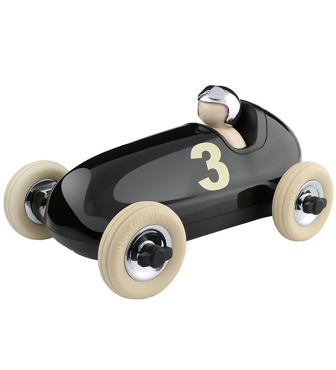 Image of Playforever Racerbil - 27 cm - Bruno - Sort (MJ400)