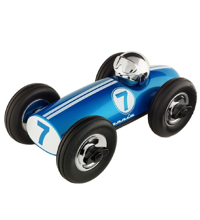 Image of Playforever Racerbil - Bonnie - Blå (MJ407)