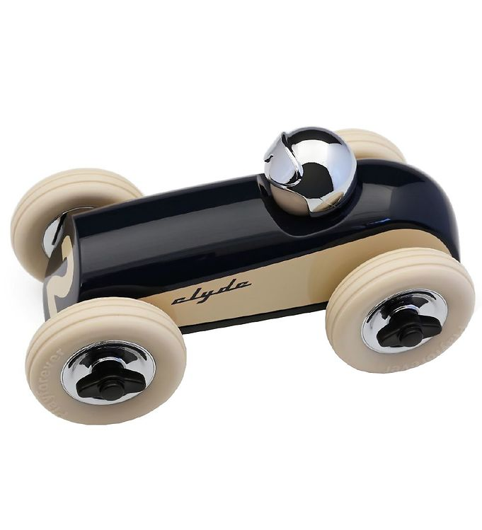 Image of Playforever Racerbil - Clyde - Blå/Crome (MJ423)