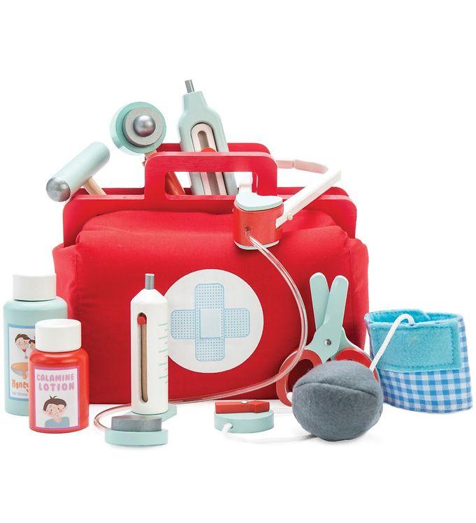 Le Toy Van Lægetaske - Honeybake - Rød - Le Toy Van,Le Toy Van Trælegetøj,Rolleleg - Le Toy Van