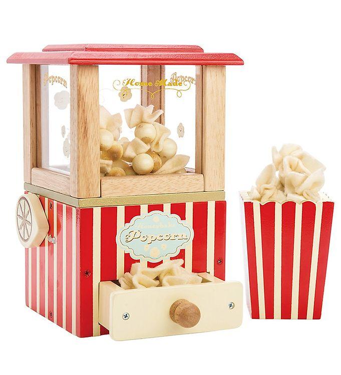 Le Toy Van Legemad - Honeybake - Popcorn Maskine - Le Toy Van,Le Toy Van Legekøkken,Le Toy Van Legemad,Le Toy Van Trælegetøj,Madlavning - Le Toy Van