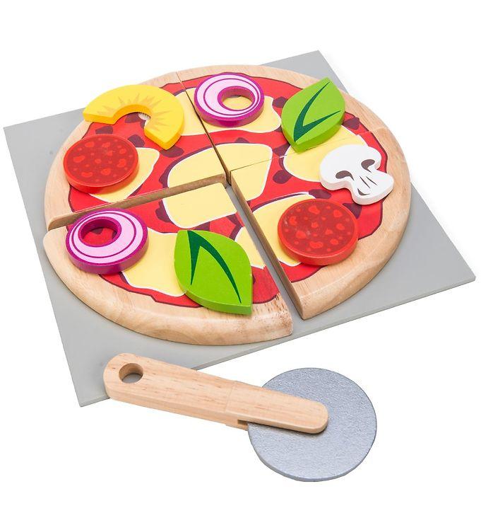 Le Toy Van Legemad - Honeybake - Pizza - Le Toy Van,Le Toy Van Legekøkken,Le Toy Van Legemad,Le Toy Van Trælegetøj,Madlavning - Le Toy Van