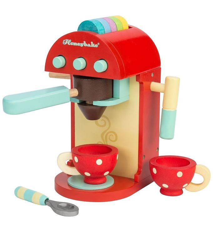 Le Toy Van Legetøjssæt - Honeybake - Kaffemaskine - Le Toy Van,Le Toy Van Legekøkken,Le Toy Van Trælegetøj,Madlavning - Le Toy Van