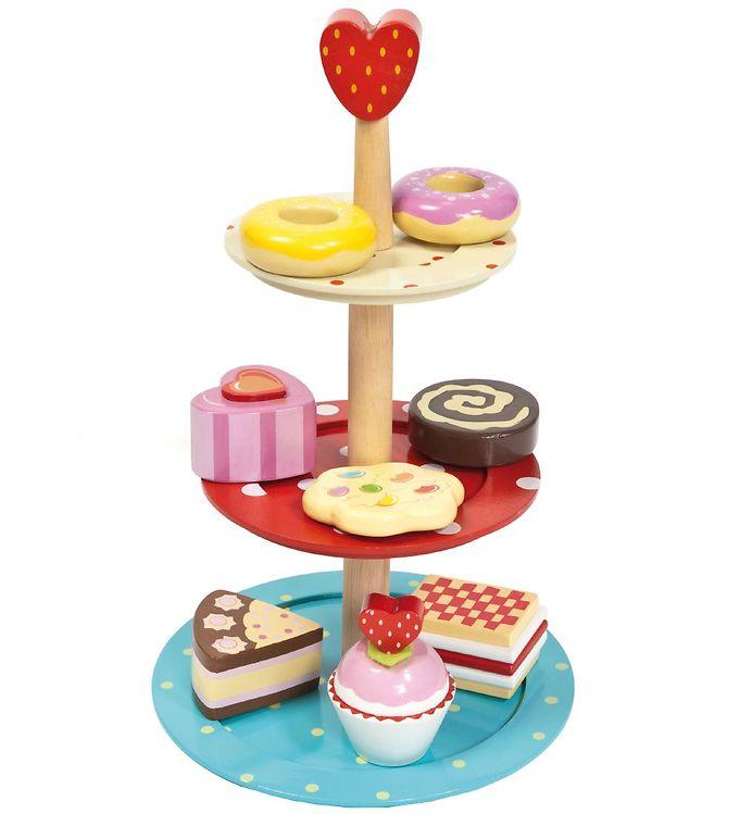 Le Toy Van Legemad - Honeybake - Kagestander - Le Toy Van,Le Toy Van Legekøkken,Le Toy Van Legemad,Le Toy Van Trælegetøj,Madlavning - Le Toy Van