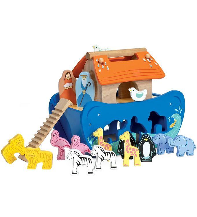 Le Toy Van Puttekasse - Noahs Ark - Le Toy Van,Le Toy Van Trælegetøj,Puttekasser - Le Toy Van