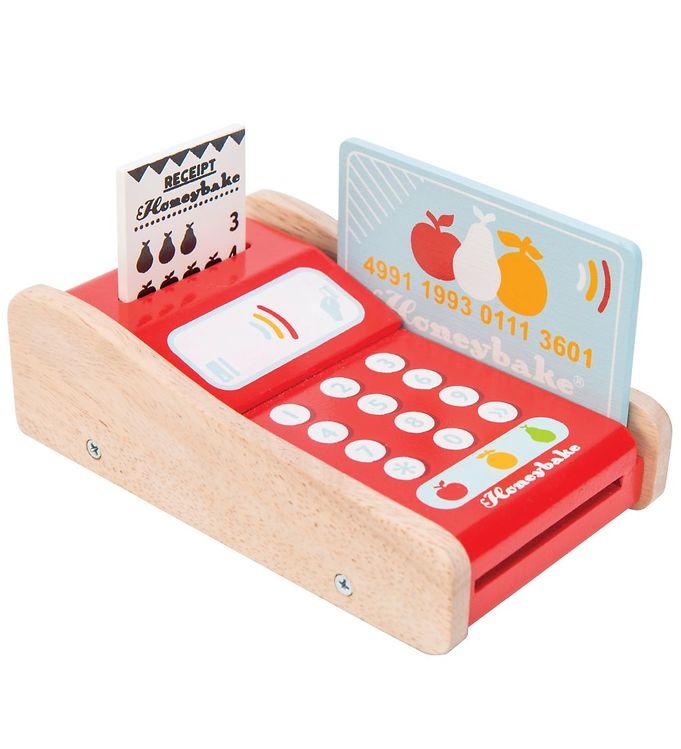Le Toy Van Trælegetøj - Honeybake - Kortautomat - Le Toy Van,Le Toy Van Legekøkken,Le Toy Van Trælegetøj,Madlavning - Le Toy Van