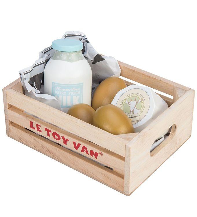 Le Toy Van Legemad - Honeybake - Æg & Mælkeprodukter - Le Toy Van,Le Toy Van Legekøkken,Le Toy Van Legemad,Le Toy Van Trælegetøj,Madlavning - Le Toy Van