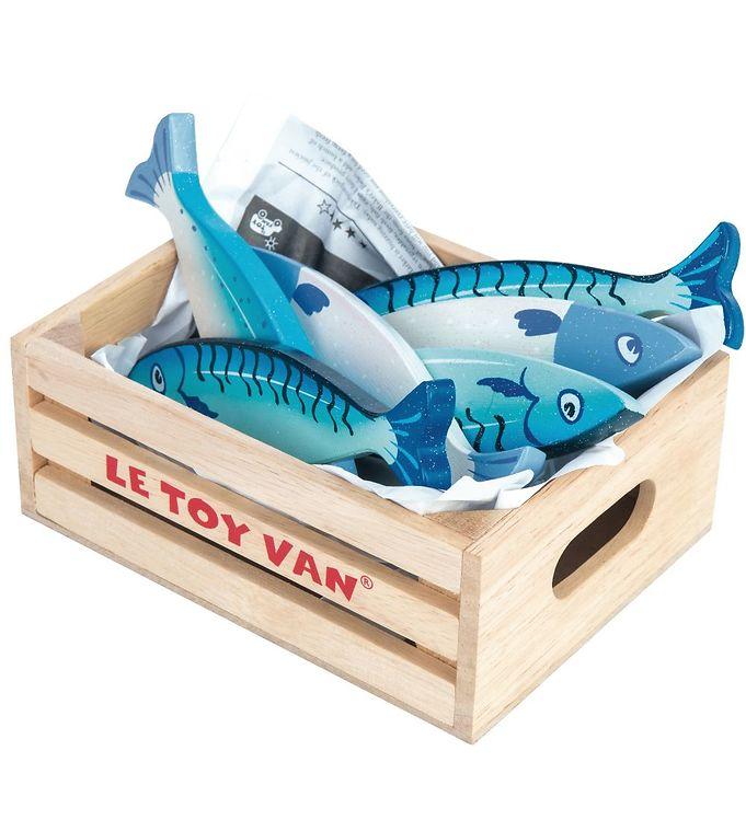 Le Toy Van Legemad - Honeybake - Fisk - Le Toy Van,Le Toy Van Legekøkken,Le Toy Van Legemad,Le Toy Van Trælegetøj,Madlavning - Le Toy Van