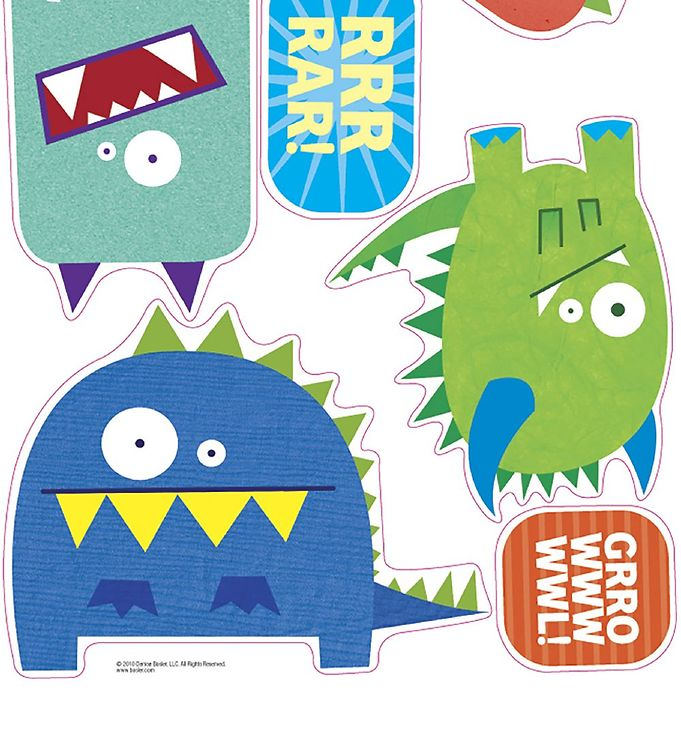 Image of Room Mates Wallstickers - Monster Mix (MJ622)