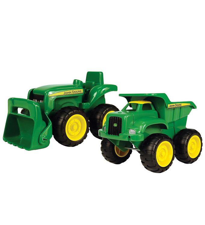 Image of John Deere Arbejdsbiler - Traktor & Dumper (MJ891)
