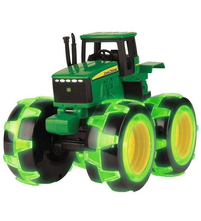 Image of John Deere Arbejdsbil - Traktor m. Lys (MJ893)