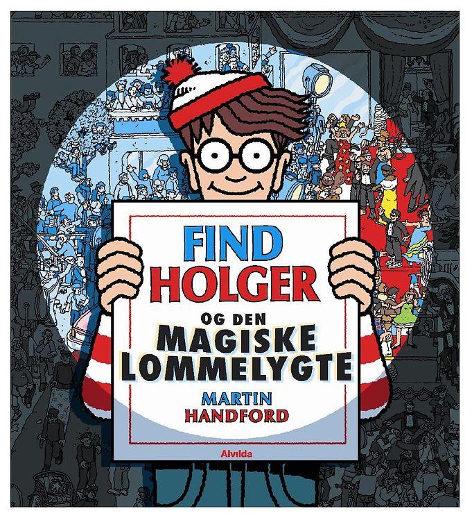 Image of Alvilda Bog - Find Holger & Den Magiske Lommelygte (MJ945)
