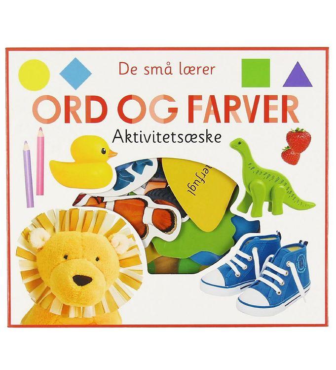 Image of Alvilda Aktivitetsæske - De Små Lærer - Ord Og Farver (MJ956)