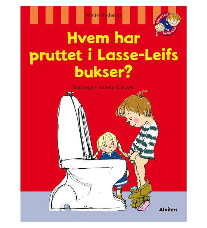Image of Alvilda Bog - Hvem Har Pruttet i Lasse-Leifs Bukser? (MJ962)