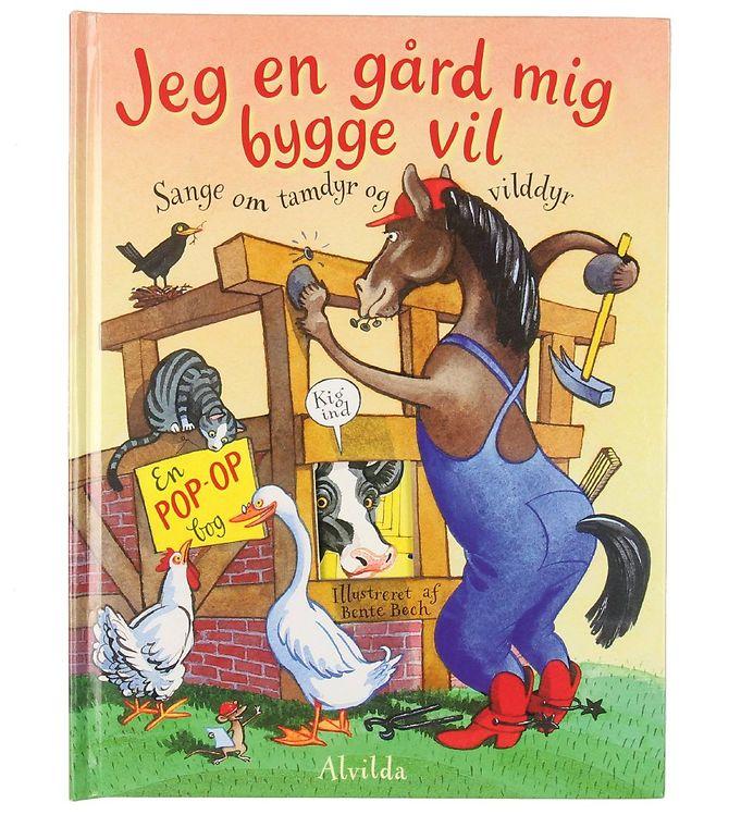 Image of Alvilda Sangbog - Jeg En Gård Mig Bygge Vil (MJ963)