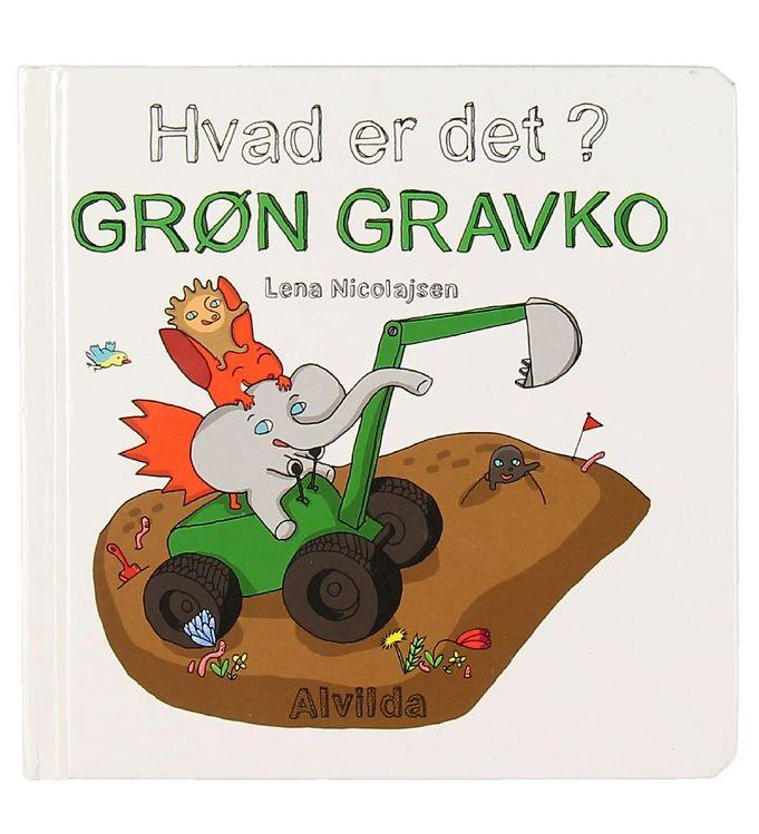 Image of Alvilda Bog - Hvad Er Det? - Grøn Gravko (MJ970)