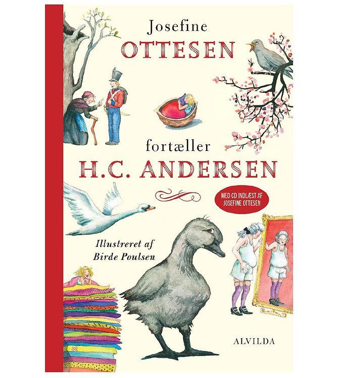 Image of Alvilda Bog - Josefine Ottesen Fortæller H C Andersen m. CD (MJ985)