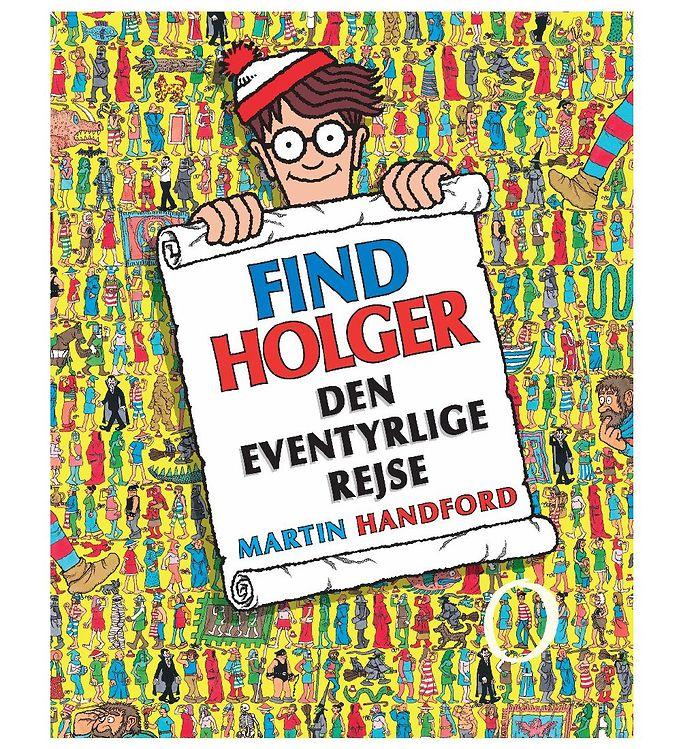 Image of Alvilda Bog - Find Holger - Den Eventyrlige Rejse (MJ986)