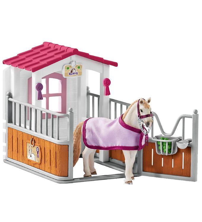 Schleich Horse Club - Hesteboks m. Lusitano Hest