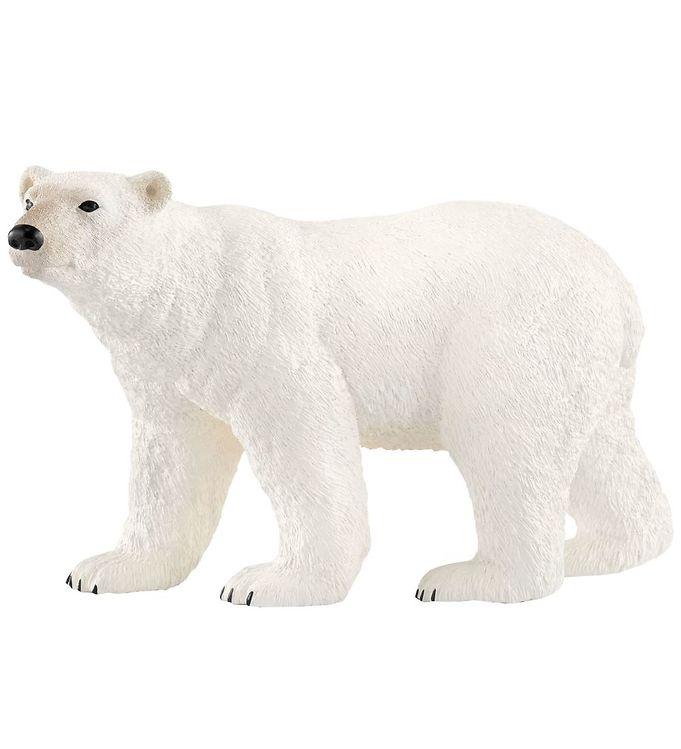 Schleich Dyr - Isbjørn - H: 7 cm