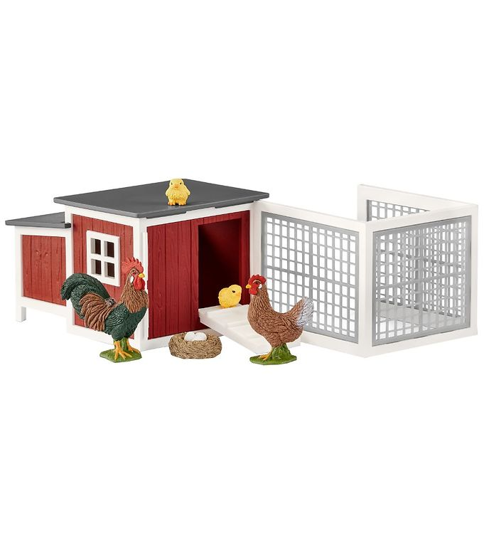 Schleich Farm World - Hønsehus