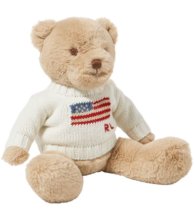 Image of Polo Ralph Lauren Bamse m. Sweater - 20 cm - Creme (MK686)