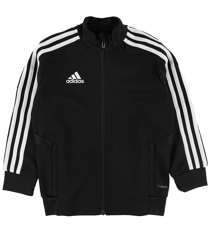 Image of adidas Performance Cardigan - Sort m. Striber