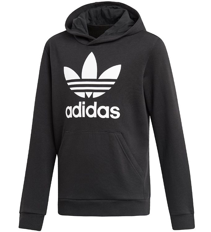 Image of   adidas Originals Hættetrøje - Trefoil - Sort