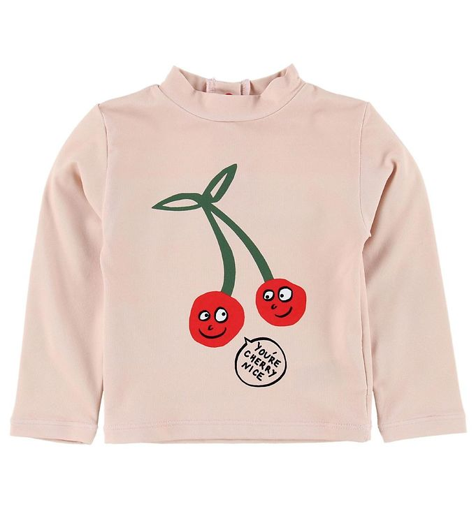 Image of Stella McCartney Kids Badebluse - Rosa m. Kirsebær (ML690)