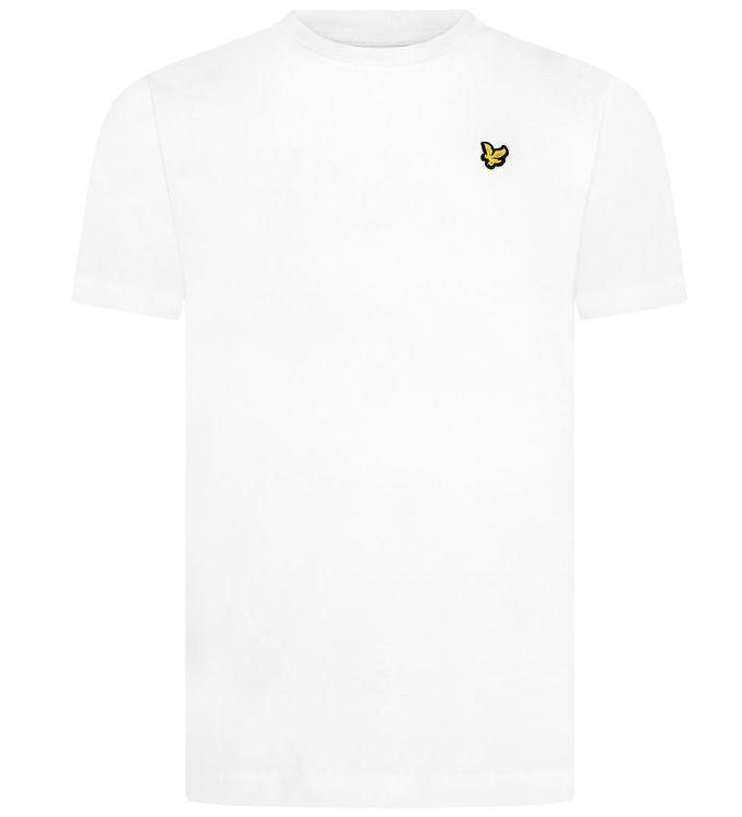 Image of Lyle & Scott Junior T-shirt - Hvid m. Logo (MN051)