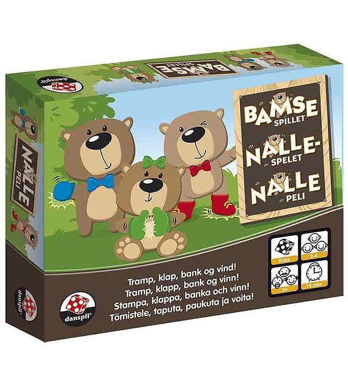 Danspil Kortspil - Bamsespillet