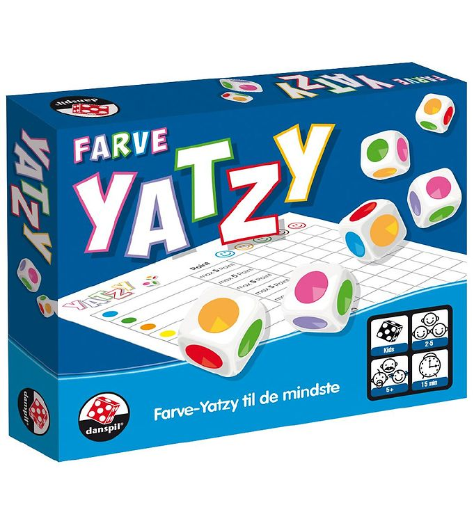 Danspil Terningspil - Kidz Yatzy