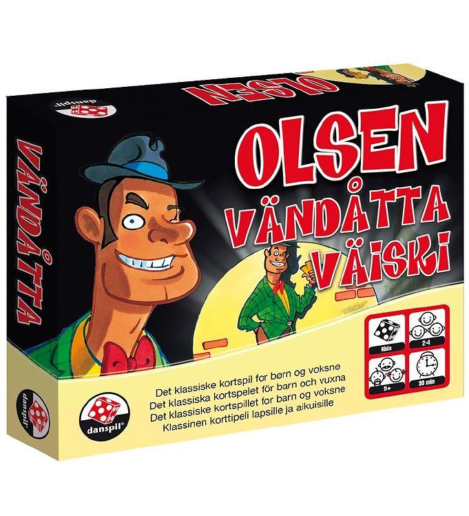 Danspil Kortspil - Olsen