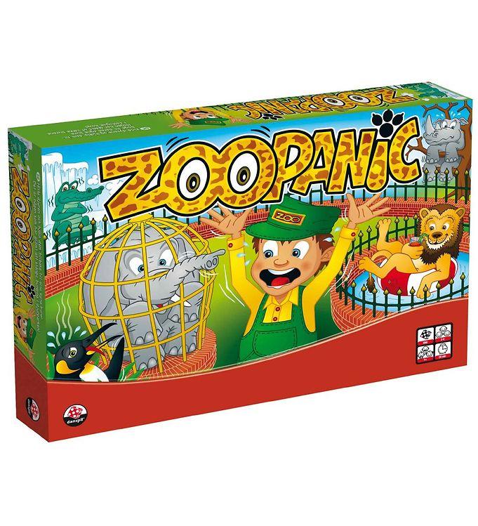 Image of Danspil Brætspil - Zoo Panic (MN113)