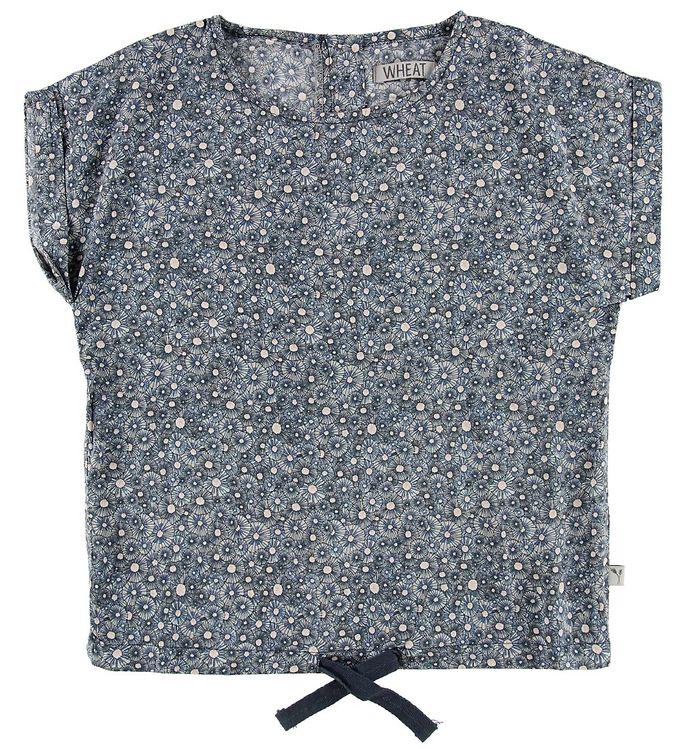 Image of Wheat T-shirt - Lilian - Air m. Mønster (MN153)