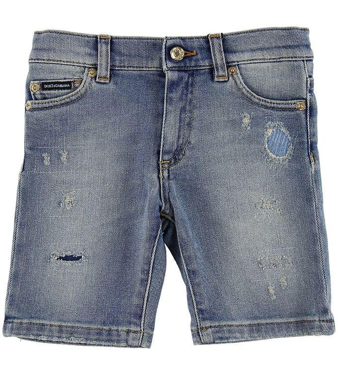 Image of Dolce & Gabbana Shorts - Denim - Blå (MN386)