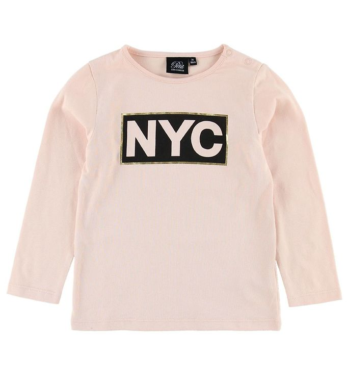 Image of Petit by Sofie Schnoor Bluse - Pudder m. NYC (MN757)