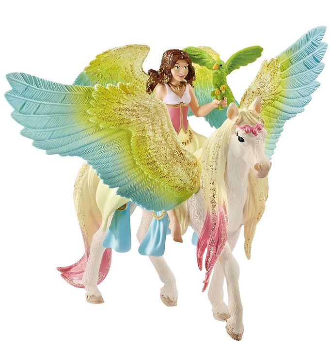 Image of Schleich Bayala - Feen Surah & Pegasus (MO428)