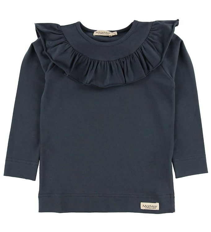 Image of MarMar Bluse - Tessie - Jersey - Navy (MO430)