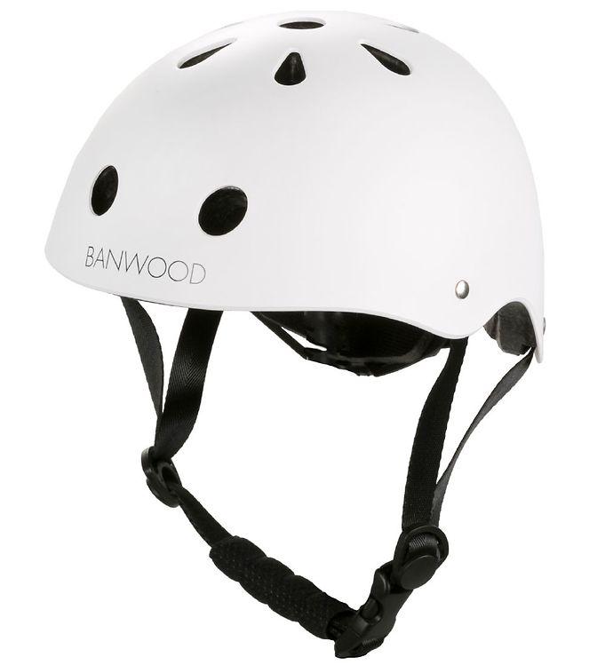 Image of Banwood Cykelhjelm - Classic - Hvid (MO677)