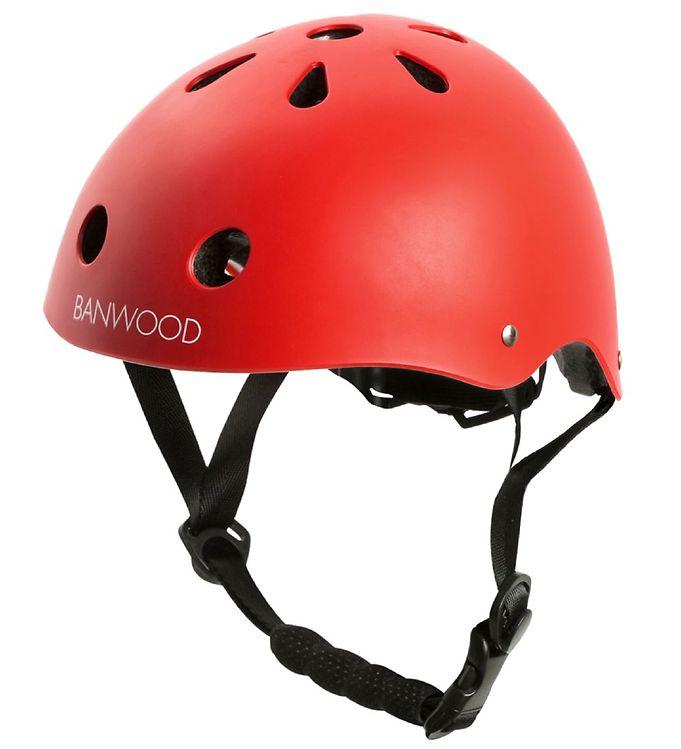 Image of Banwood Cykelhjelm - Classic - Rød (MO678)