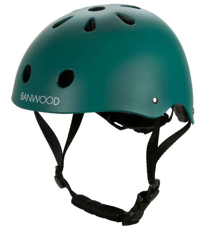 Banwood Cykelhjelm - Classic - Mørkegrøn
