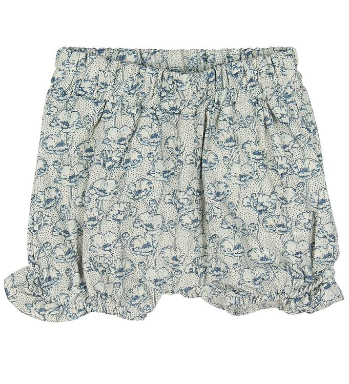 Image of En Fant Shorts - Creme m. Blomster (MO930)
